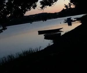camping, summer, and night image