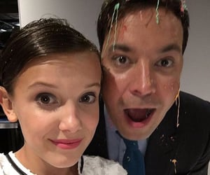stranger things and millie bobby brown image