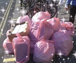 aesthetic, trash, and pink image