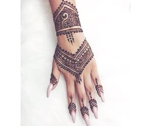 henna, tattoo, and tumblr image