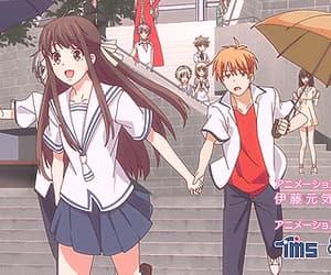 anime, yuki, and fruit basket image