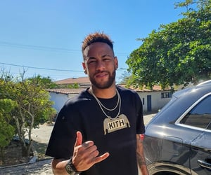 brazil, football, and neymar image