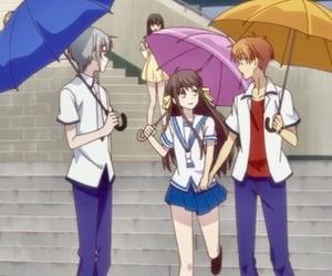 anime, anime girl, and fruits basket image