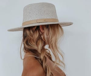 fashion, aesthetic, and hat image