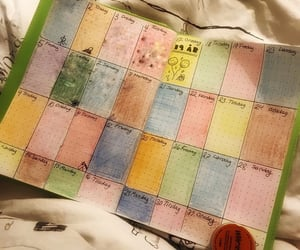 calender, days, and bulletjournal image