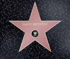 happy birthday, geburtstag, and Walk of Fame image