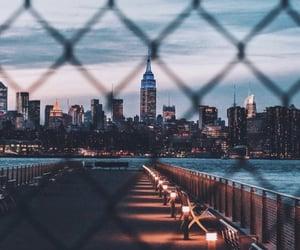 lights, night, and wallpaper image