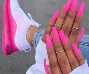 nails, nails inspiration, and pink image