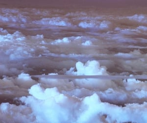 clouds, sky, and universe image