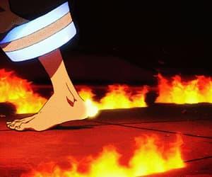anime, gif, and enen no shouboutai image