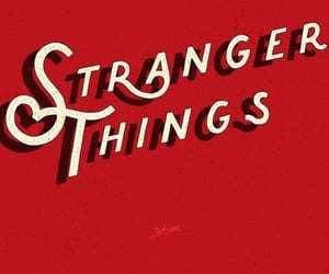 stranger things and red image