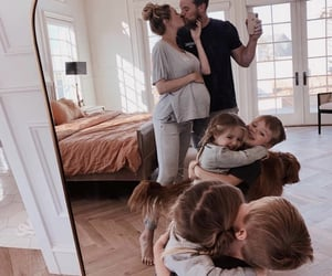 family, happiness, and kids image