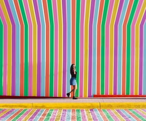 colorful, colors, and stripes image