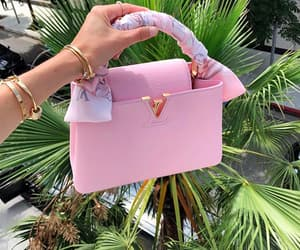 bag, pink, and fashion image