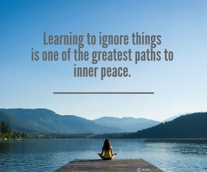 quote and inner peace image