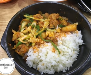 delicious, korean food, and eating image