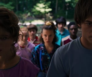 el, will byers, and nancy wheeler image