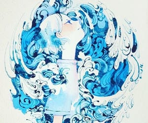 artist, maruti bitamin, and blue image