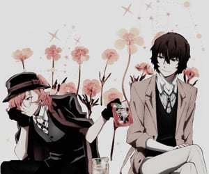 flower, wallpaper, and anime boy image