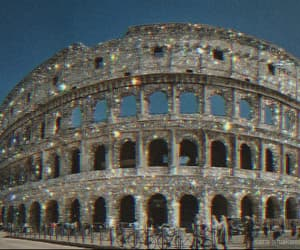 aesthetic, rome, and sparkly image