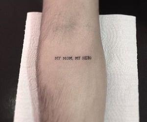 hero, mom, and tattoo image