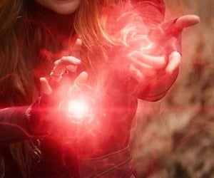wanda maximoff, Marvel, and scarlet witch image
