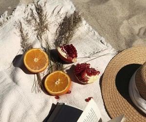beach, blanket, and bohemian image