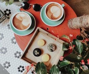 coffee, coffee shop, and drinks image