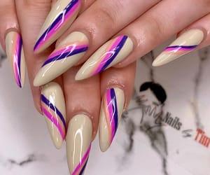 colors, acrylic nails, and fake nails image