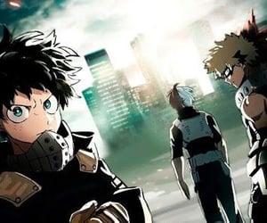 anime, boku no hero academia, and midoriya image