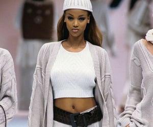 model, tyra banks, and Adriana Lima image