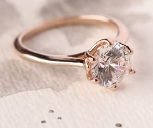 wedding rings and diamond engagement rings image