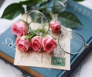 beautiful, pink roses, and bouquet image
