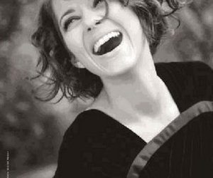 Marion Cotillard, smile, and black and white image