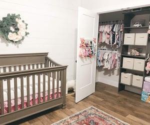 baby, organize, and crib image