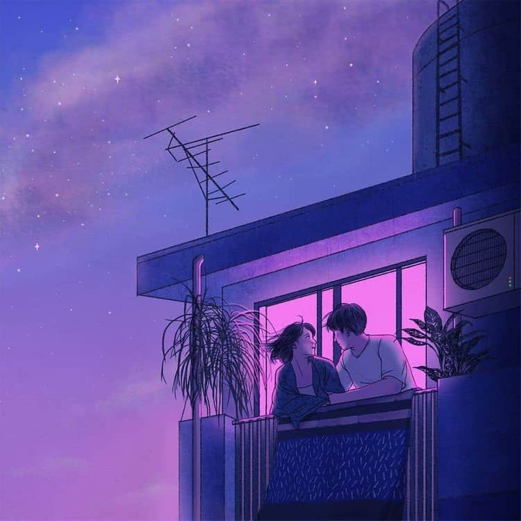 Love Aesthetic Lofi On We Heart It