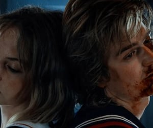 robin, steve, and stranger things image