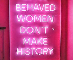 pink, women, and neon image