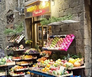 fruit, italy, and shop image