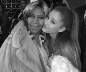 aretha franklin and ariana grande image