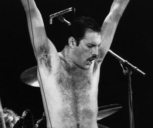 band, music, and Freddie Mercury image
