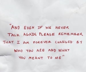quote writing words and red sad breakup image
