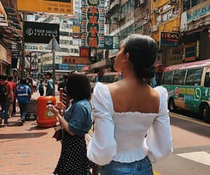 back, hong kong, and walking image