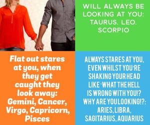 aquarius, star signs, and aries image