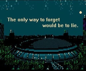 quotes and pixel image