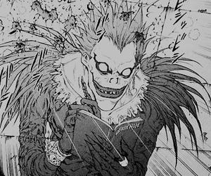 death note, manga, and ryuk image
