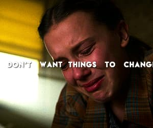 eleven, gif, and tv series image
