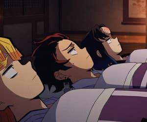 gif, demon slayer, and kimetsu no yaiba image