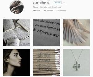 aesthetic, athena, and fantasy image