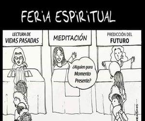 future, present, and meditacion image